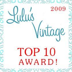Lulus Vintage Top 10 2009