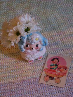 Vintage Baby Planter