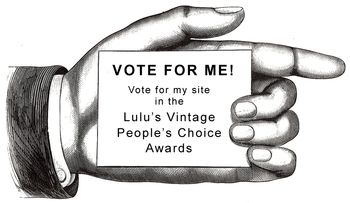 Vote For Me - Top 10 Vintage Sites - 1 flat