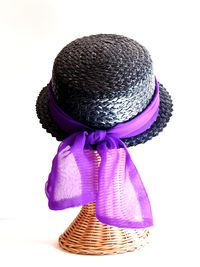 Vintage purple hat 1 e