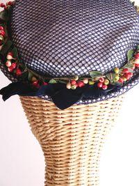 Vintage blue hat 1.3 e