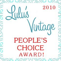 Lulus Vintage Peoples Choice 2010