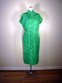 Vintage cheongsam dress