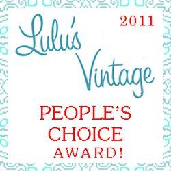 Lulus Vintage Peoples Choice 2011