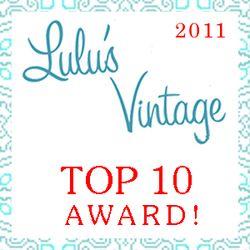Lulus Vintage Top 10 2011
