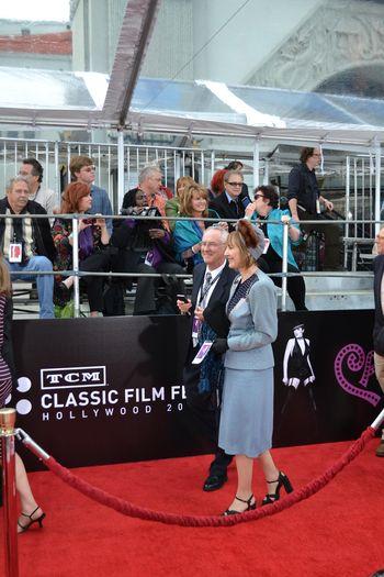 TCM Film Festival Red Carpet  2012 7
