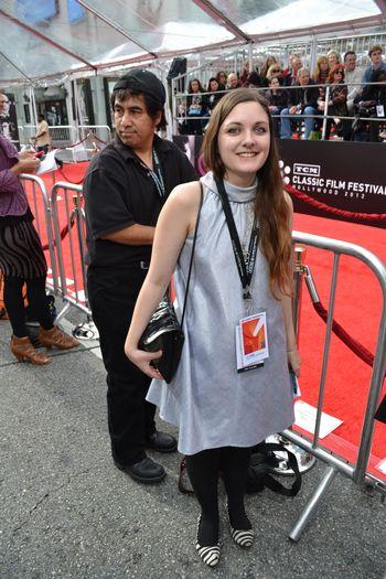 TCM Film Festival Red Carpet  2012 1