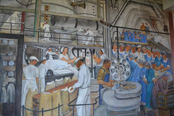 Coit tower murals 8