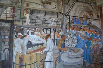 Coit tower murals 8
