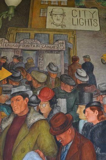 Coit tower murals 17