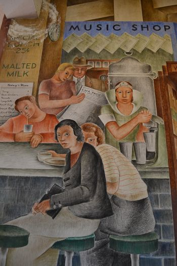 Coit tower murals 23