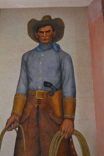 Coit tower murals 24