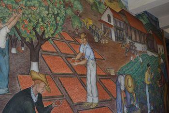 Coit tower murals 30