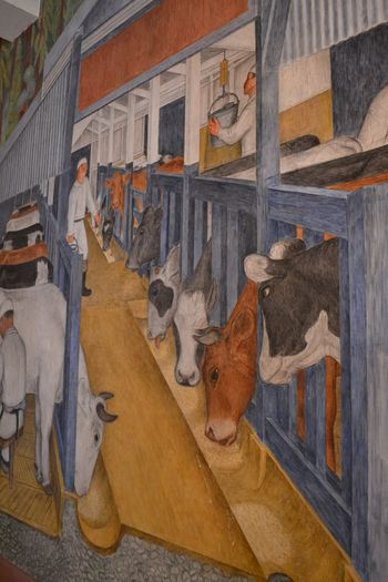 Coit tower murals 32
