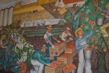 Coit tower murals 28