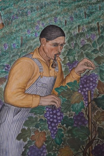 Coit tower murals 31