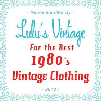 Lulus Vintage 1980s