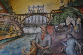 Coit tower murals 3