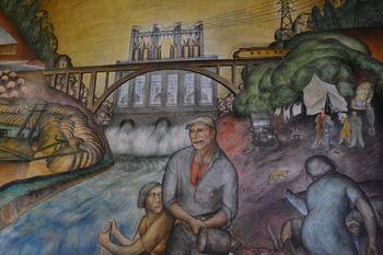 Coit tower murals 3