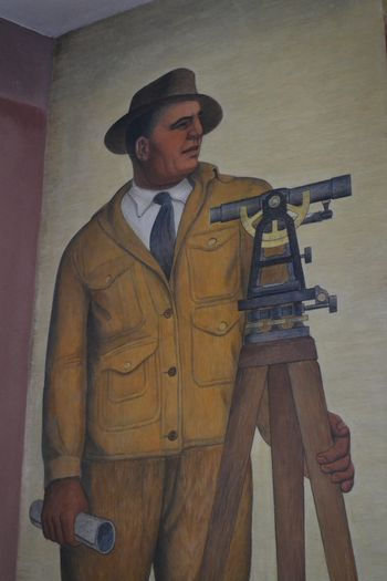 Coit tower murals 7