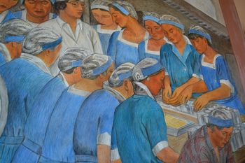 Coit tower murals 9