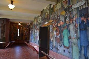 Coit tower murals 19