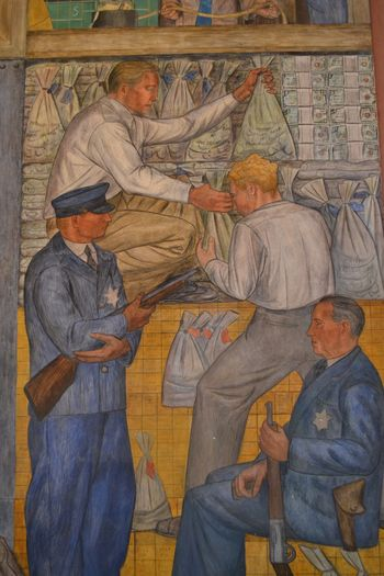 Coit tower murals 20