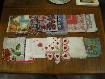 Vintage novelty hankies 2