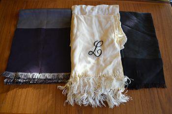 Vintage opera scarves