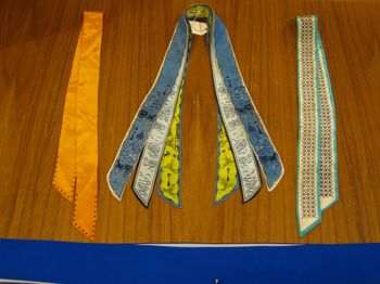 Vintage silk neck ties