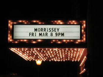 Morrissey portland 2013