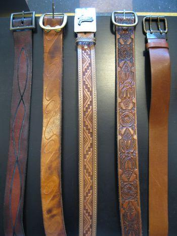Vintage belts 5