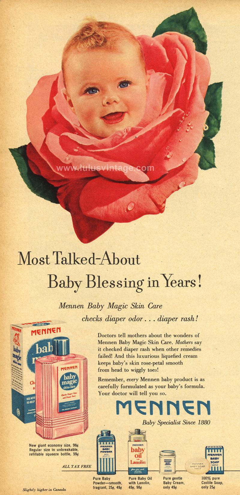 Vintage Baby Ads