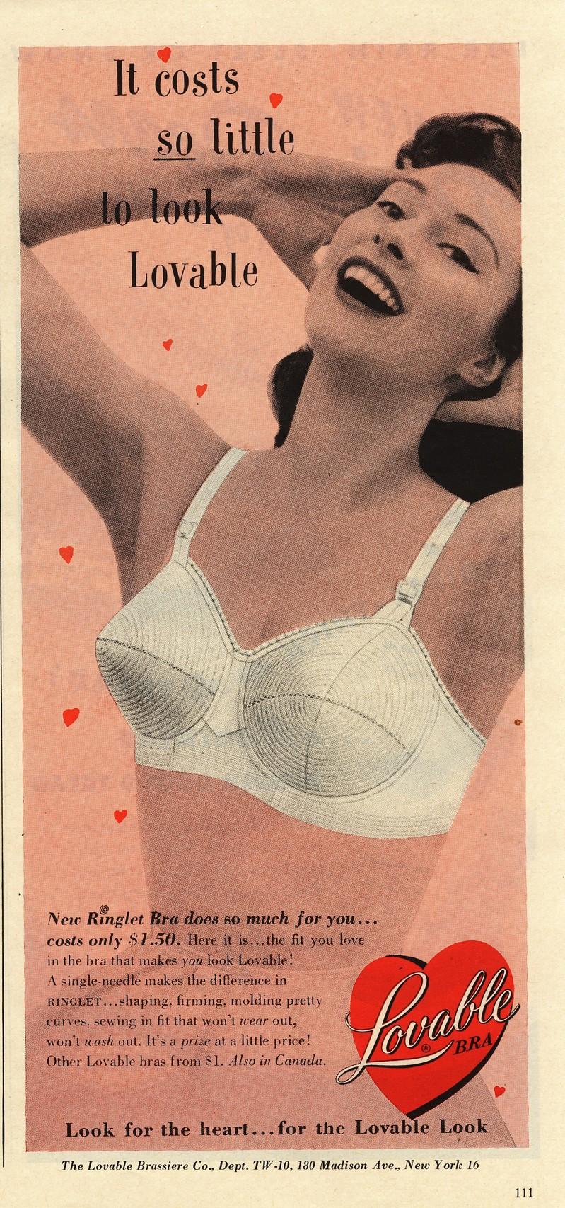 95f9c598e38 Lulu s Vintage Blog  Vintage Bra Ads