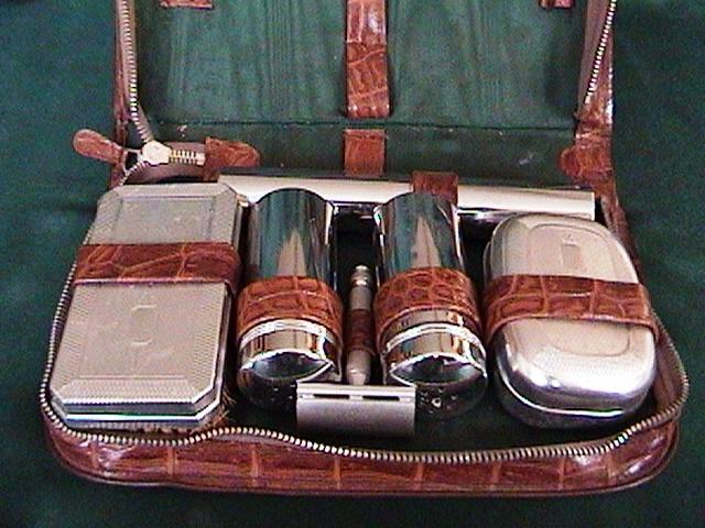 Lulu S Vintage Blog Men S Vintage Art Deco Grooming Kits