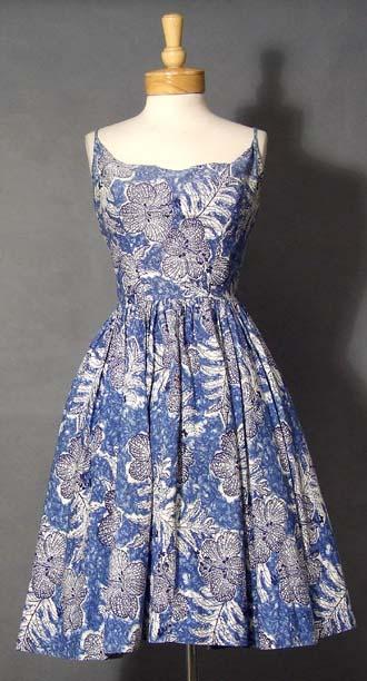 182d3607c76 Lulu's Vintage Blog: Vintage Hawaiian Dresses