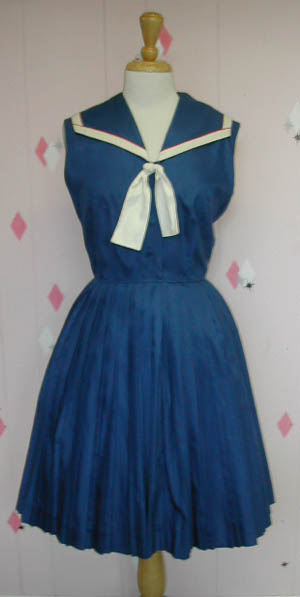 Grandma June: Vintage Sailor Dress